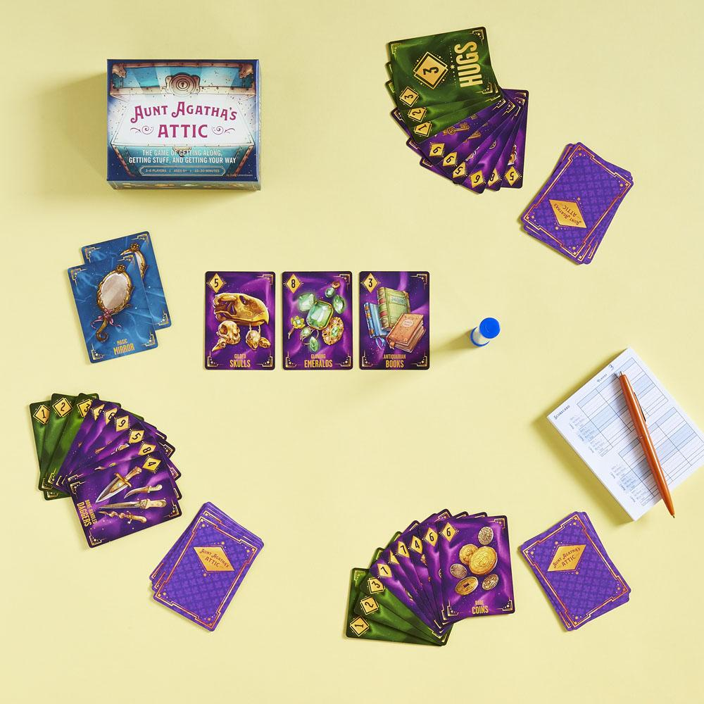 Aunt Agatha's Attic game play