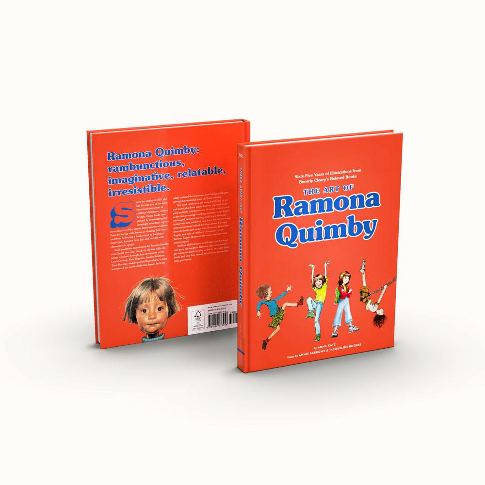 The Art of Ramona Quimby front and back cover
