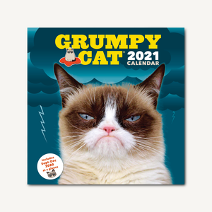 Grumpy Cat 2021 Wall Calendar