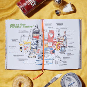 Eat Something interior illustration: Ode to Our Parents' Pantry