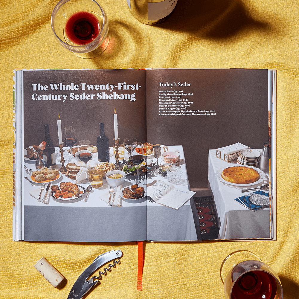 Eat Something interior photograph: The Whole Twenty-First-Century Seder Shebang
