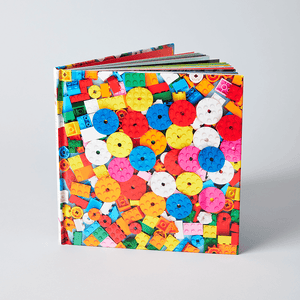 LEGO Still Life with Bricks unjacketed book