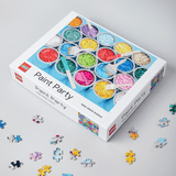 LEGO Paint Party Puzzle with puzzle pieces