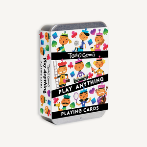 Taro Gomi's Play Anything Playing Cards