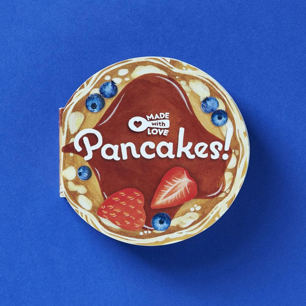 Made With Love: Pancakes! board book