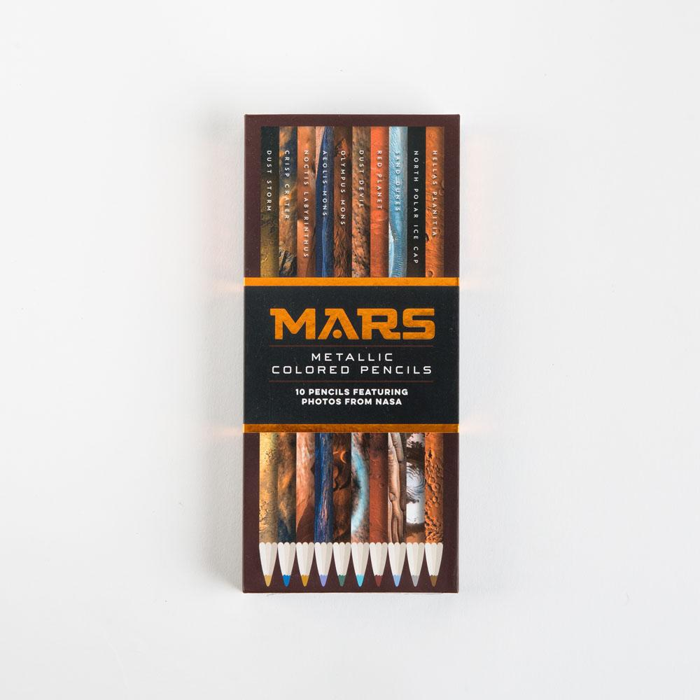 Mars Metallic Colored Pencils with closed box
