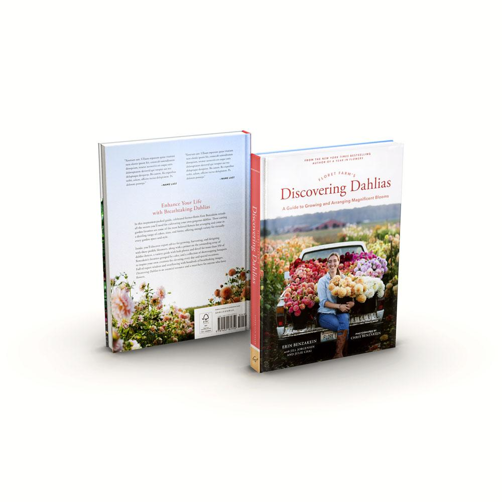 Floret Farm's Discovering Dahlias front and back cover
