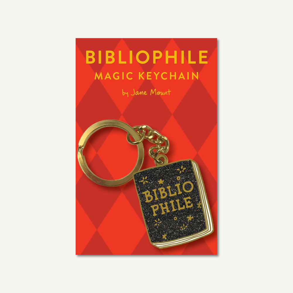 Bibliophile Magic Keychain