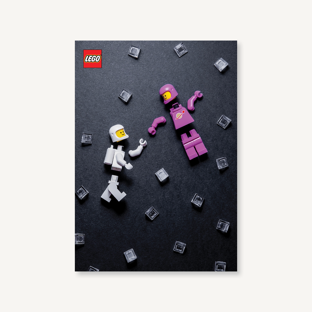 LEGO Minfigure Journal