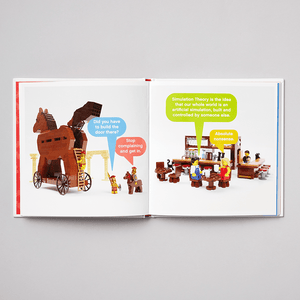 LEGO Small Parts book with open pages