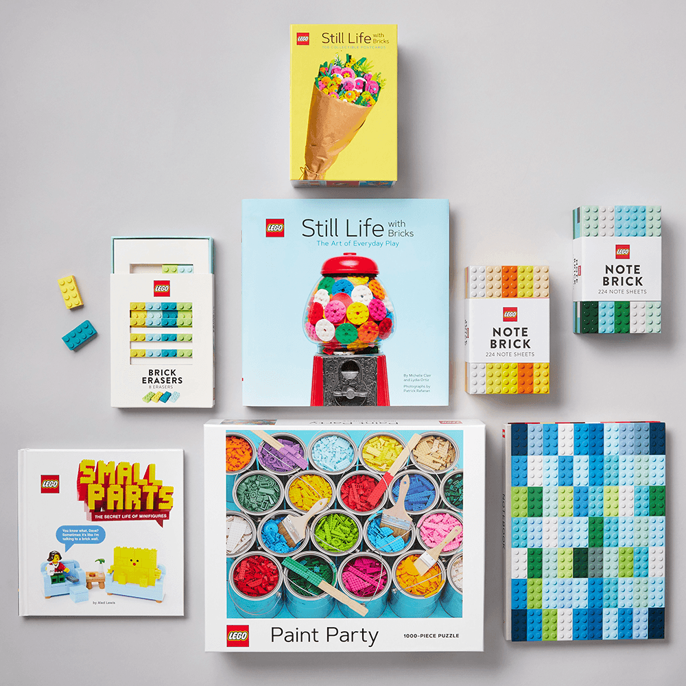 LEGO Still Life with Bricks: 100 Collectible Postcards with other LEGO gifts