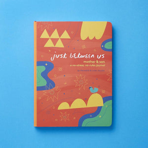Just Between Us: Mother & Son journal interior