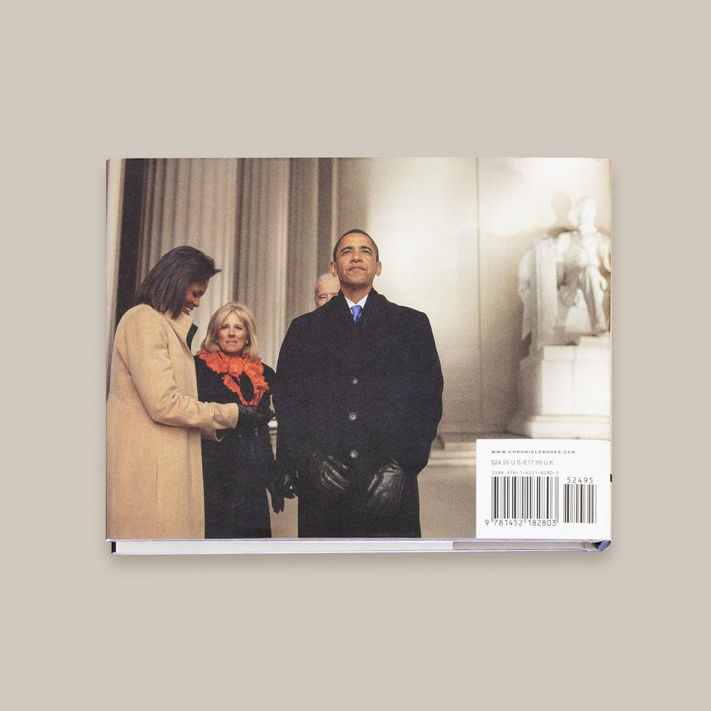 Hope, Never Fear: A Personal Portrait of the Obamas back cover