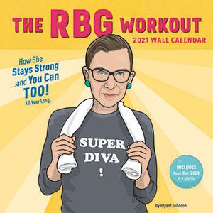 RBG Workout 2021 Wall Calendar