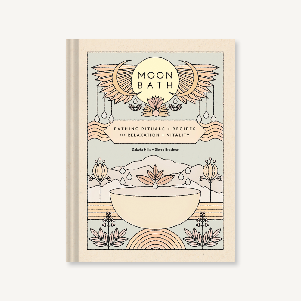 Moon Bath, Bathing Rituals and Recipes for Relaxation and Vitality