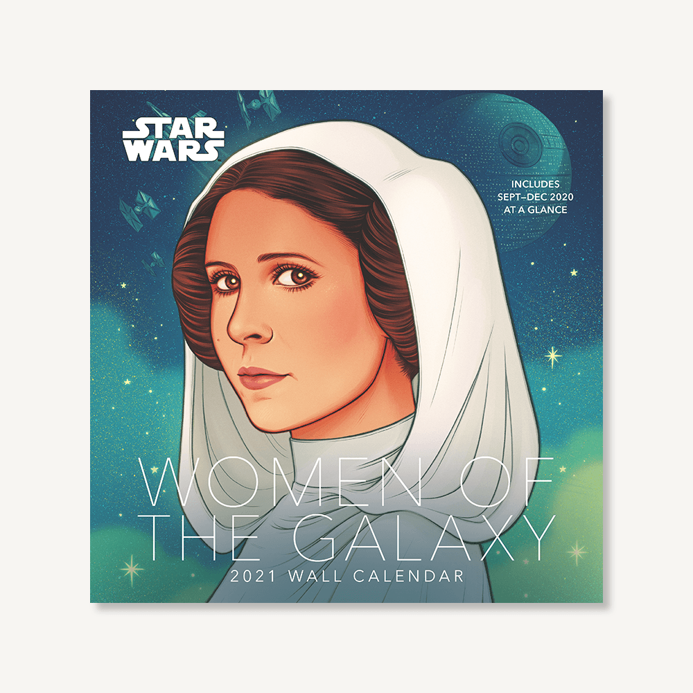 Star Wars Women of the Galaxy 2021 Wall Calendar