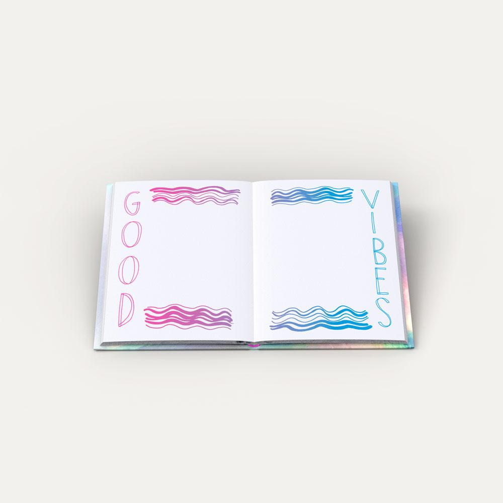 Posi Vibes Journal interior