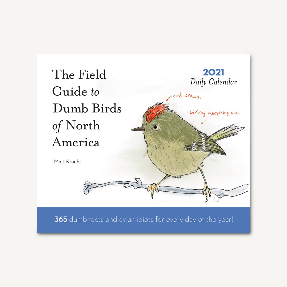 Dumb Birds of North America 2021 Daily Calendar