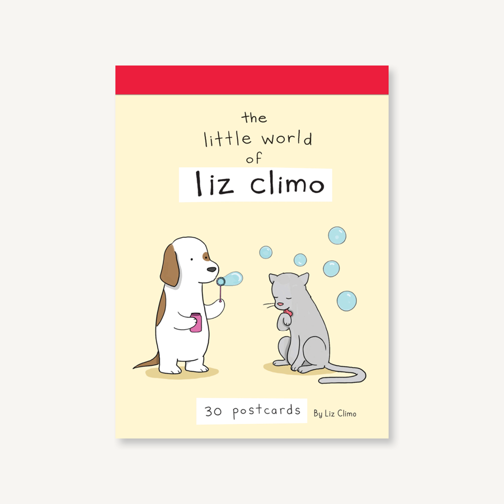 The Little World of Liz Climo Postcard Book