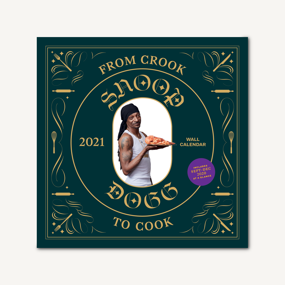 From Crook to Cook 2021 Wall Calendar