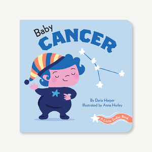 A Little Zodiac Book: Baby Cancer