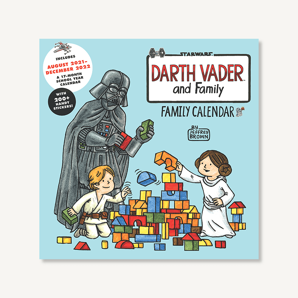 Star Wars Darth Vader and Family 2022 Wall Calendar