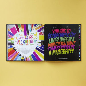 Live Life Colorfully interior