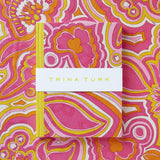 Trina Turk cover with patterned background