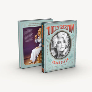 Dolly Parton, Songteller: My Life in Lyrics, front and back covers