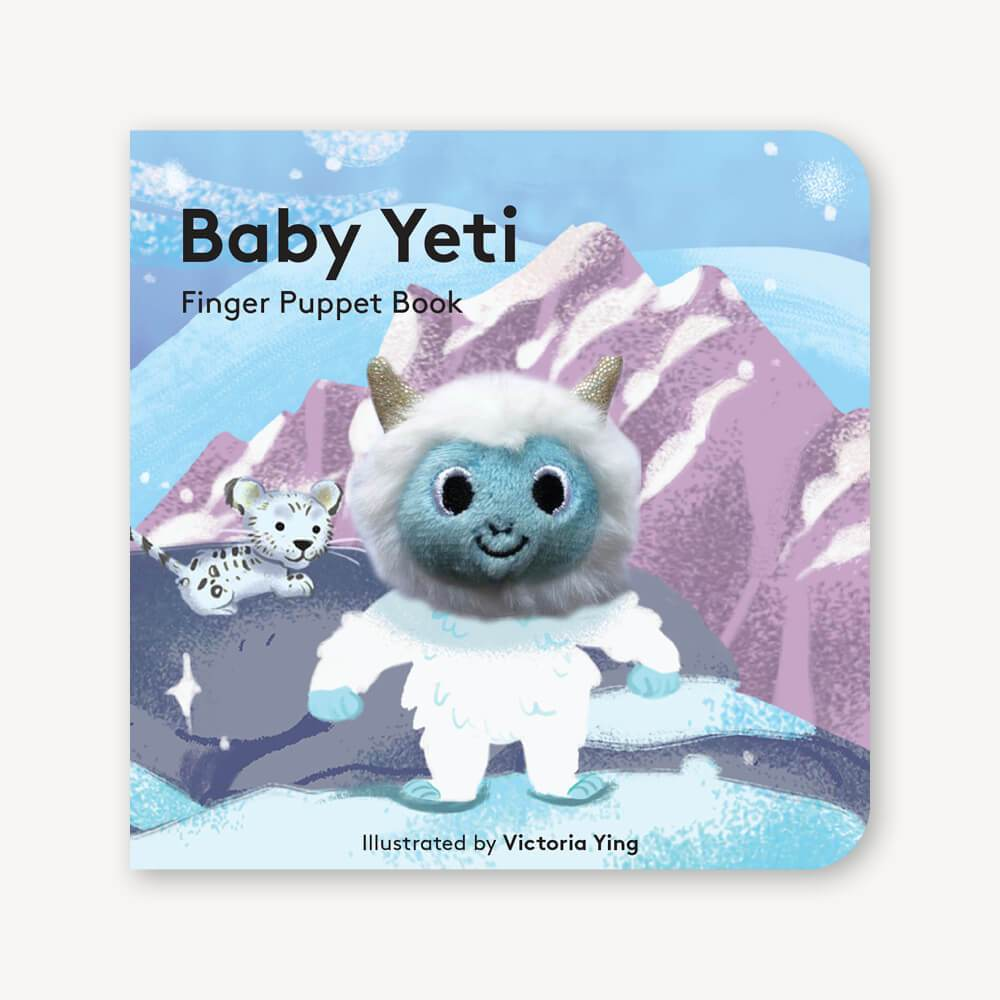 Baby Yeti: Finger Puppet Book