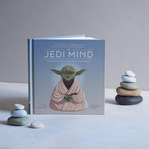 Star Wars The Jedi Mind with stacking stones