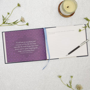 Journey A Journal of Discovery Follow Your Dreams and Live Your Destiny BY PAULO COELHO interior with candle and flowers