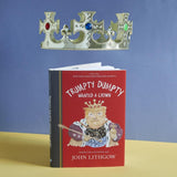 Trumpty Dumpty Wanted a Crown book with floating gold crown