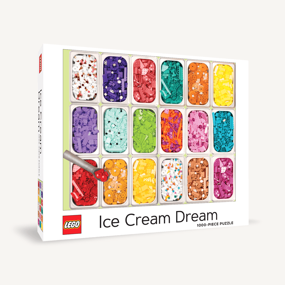 LEGO Ice Cream Dream Puzzle 1000 piece jigsaw puzzle