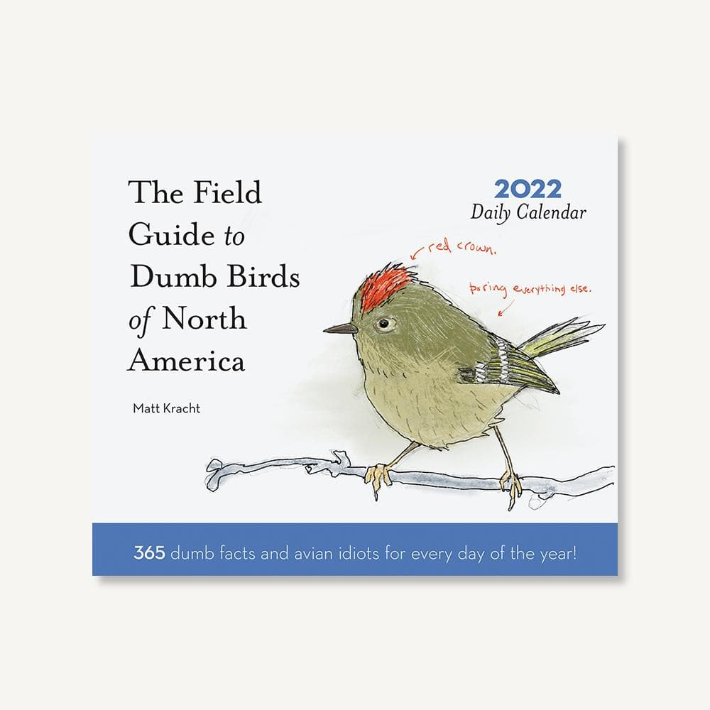 Dumb Birds of North America 2022 Daily Calendar