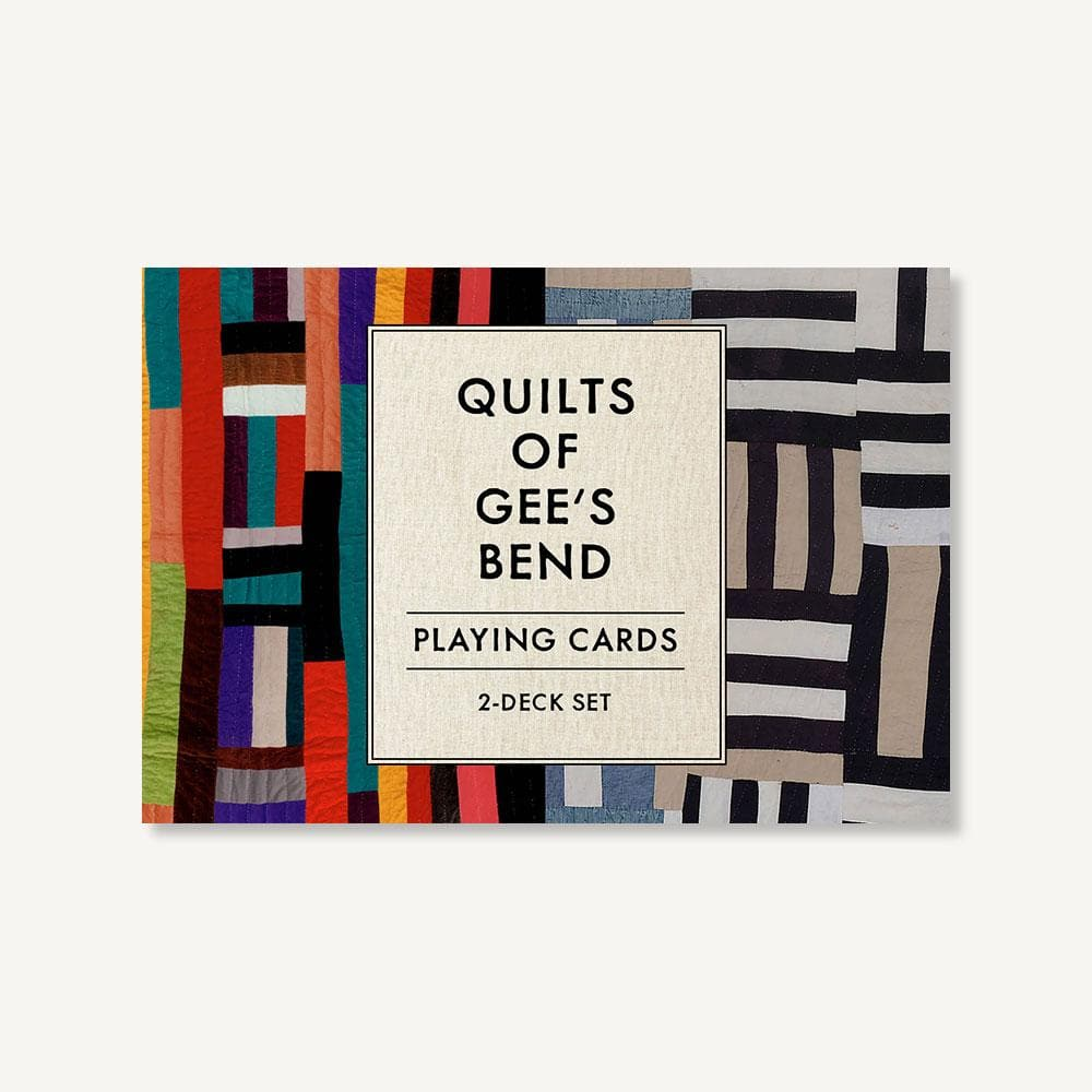 Quilts of Gee's Bend Playing Cards: 2-Deck Set