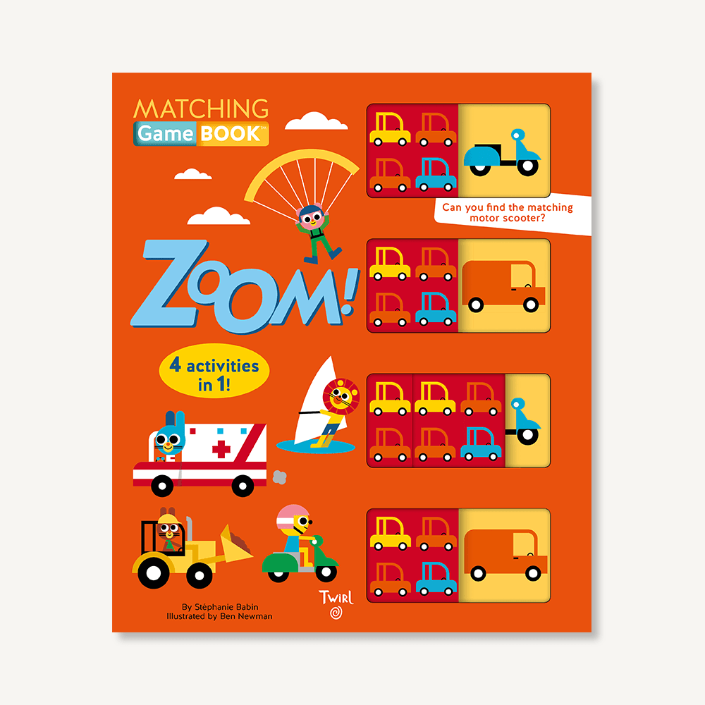 Matching Game Book™: Zoom!