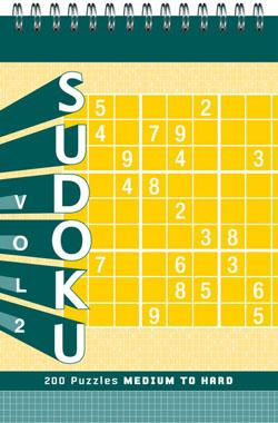 Sudoku vol. 2 Puzzle Pad: Med. to H