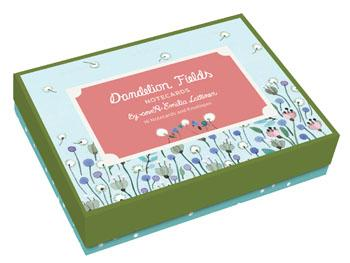 Dandelion Fields Notecards