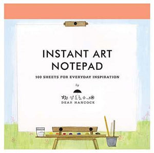 Dear Hancock: Instant Art Notepad