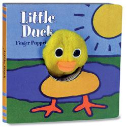 Little Duck: Finger Puppet Book