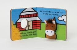 Little Horse: Finger Puppet Book