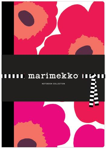Marimekko Notebook Collection (Unikko/Poppies)