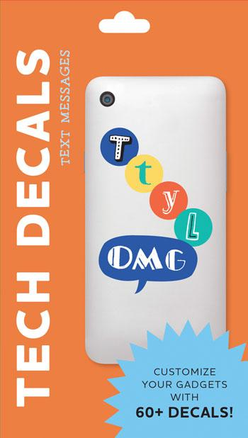 Text Messages Tech Decals