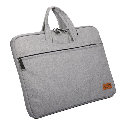 Hizek Waterproof Laptop Sleeve With Handle & Zipper Briefcase Carrying Bag
