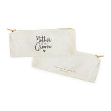 Load image into Gallery viewer, Mother of the Groom Cotton Canvas Pencil Case and Travel Pouch