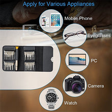 Load image into Gallery viewer, 25 in 1 Mobile Phone Repair Tools Kit Spudger Pry Opening Tool Screwdriver Set for iPhone iPad Samsung Cell Phone Hand Tools Set - Starttech Online Market