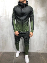 Load image into Gallery viewer, ZOGAA 2019 Brand New Men Tracksuit 2 Piece Set 3D Gradient Color Casual Hoodies Sweatshirt and Pants Sportswear Joggers Men Sets - Starttech Online Market