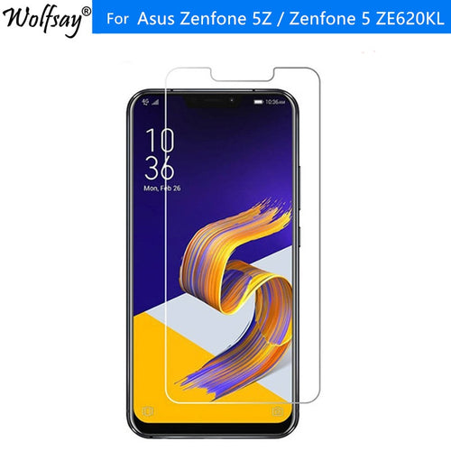 2PCS Tempered Glass Asus Zenfone 5Z / Zenfone 5 ZE620KL Screen Protector Explosion-proof Film For ASUS Zenfone 5Z ZS620KL Glass - Starttech Online Market