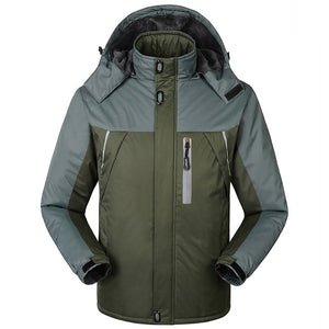 FGKKS Men Winter Parkas Jacket 2019 New Fashion Warm Thick Splice Mens Hooded Coat Male Casual Parkas Overcoat - Starttech Online Market